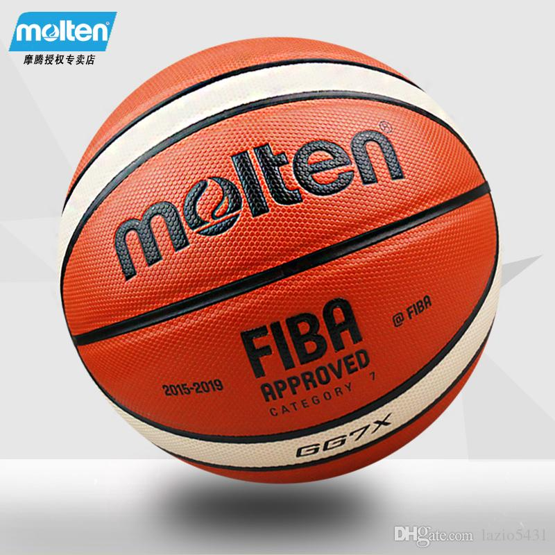 160f3afd031bcb 2019 High Quality Molten FIBA GG7X PU Leather Basketball All Star Game  Indoor Outdoor Basketball Ball Match Training Ball Size7 From Lazio5431, ...