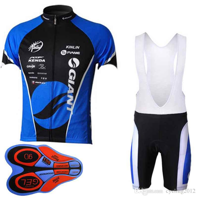 Giant 2018 Tour de France Cycling Jersey Bib Shorts Set Ropa Ciclismo Men pro team Cycling clothing MTB bike Wear shirt 10428J