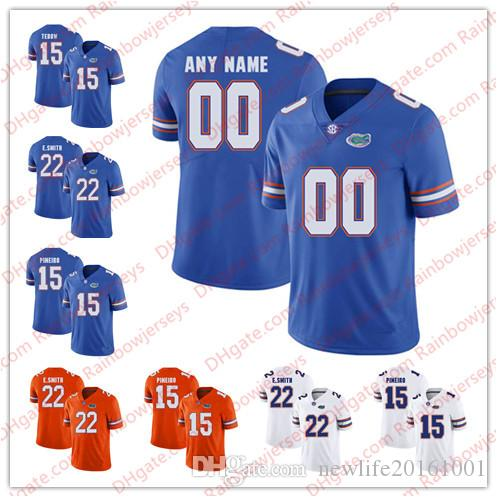31c247c25 NCAA Custom Florida Gators 15 Tim Tebow 81 Aaron Hernandez 5 Joe ...