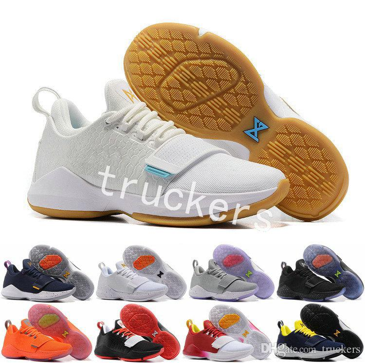2aa9431ecd4b 2018 Men Paul George PG 1 Dream Hook Zoom Low Basketball Shoes Adult I  Glacier Grey Ivory Ferocity PG1 Mens Trainers Sports Sneakers Basketball  Shoes Shoes ...
