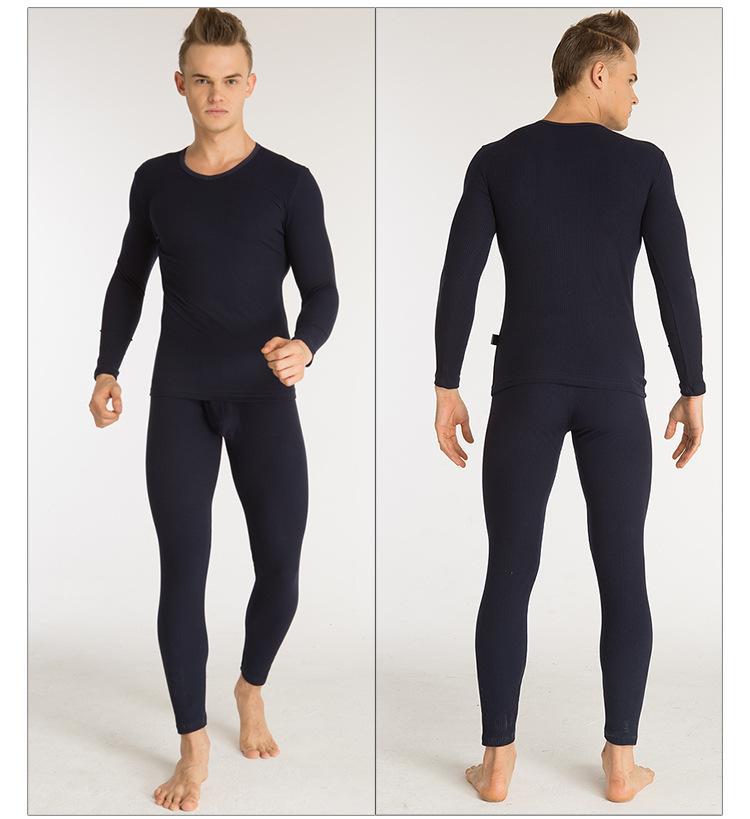 Nuevo 1 Unidades de los hombres de invierno cálido Body Long Johns Ropa Faja termica ropa interior térmica ropa interior termos íntimos