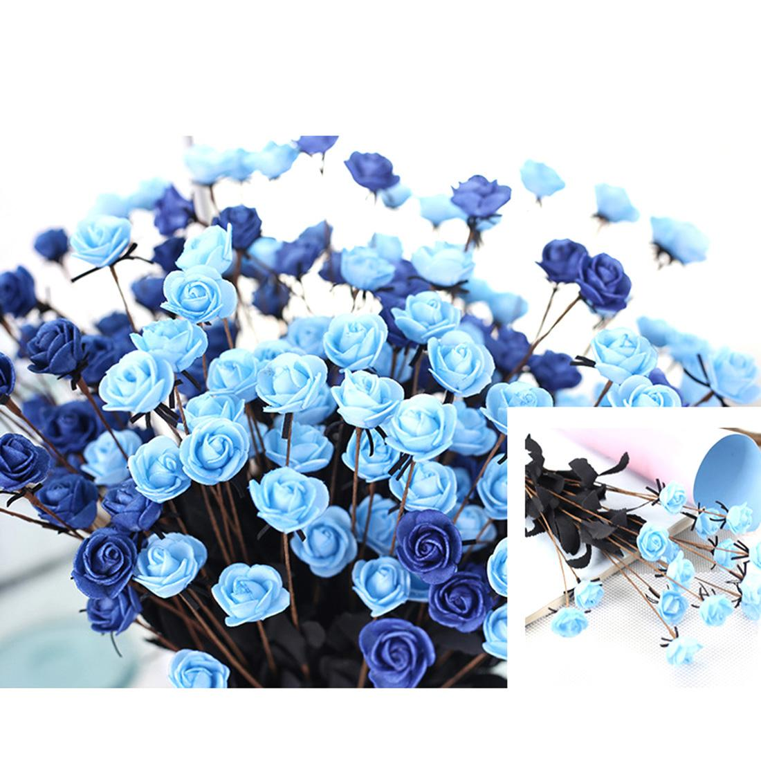 2018 Hot Sell 1 Bouquet 15 Heads Artificial Flower Simulation Rose