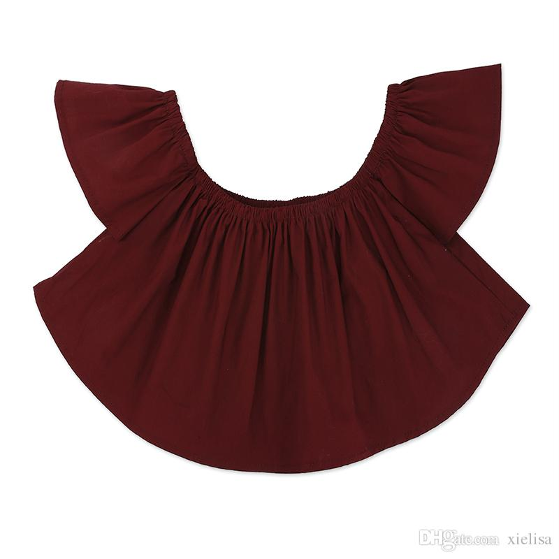 Crianças meninas set Baby Girl Alças rosa Camiseta Tops + shorts brancos Outfit crianças roupas Sets menina 1-6y roupas TZ525