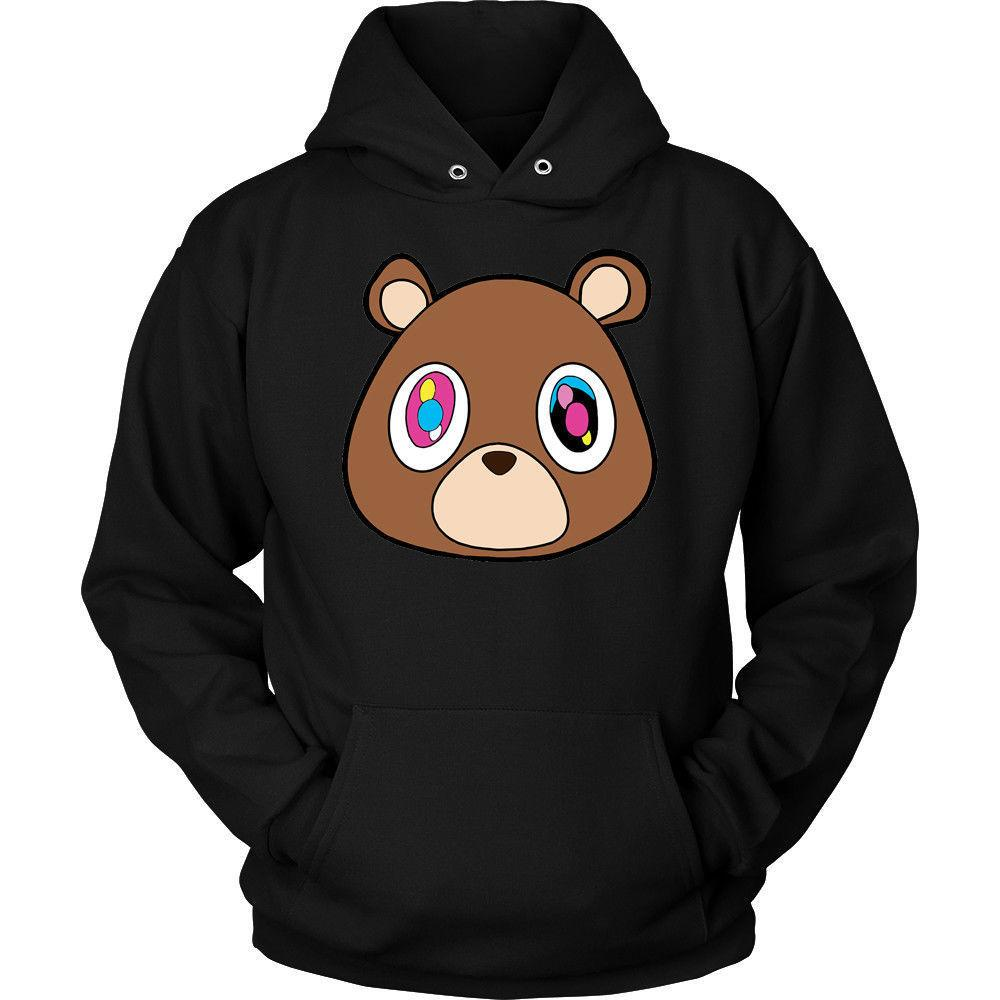 2e7e962c22852 2019 Kanye West Dropout Bear Men S Black Hoodie From Banwanyue8 ...