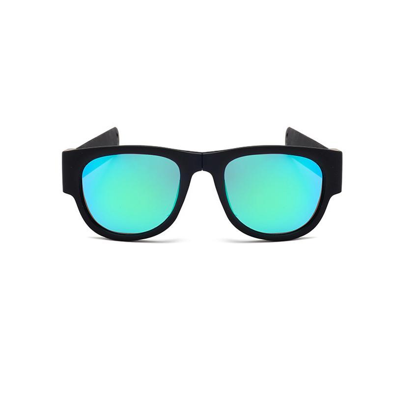 52209679b9 Mini Folding Polarized Sunglasses Women Men Cool Trendy Cycling ...