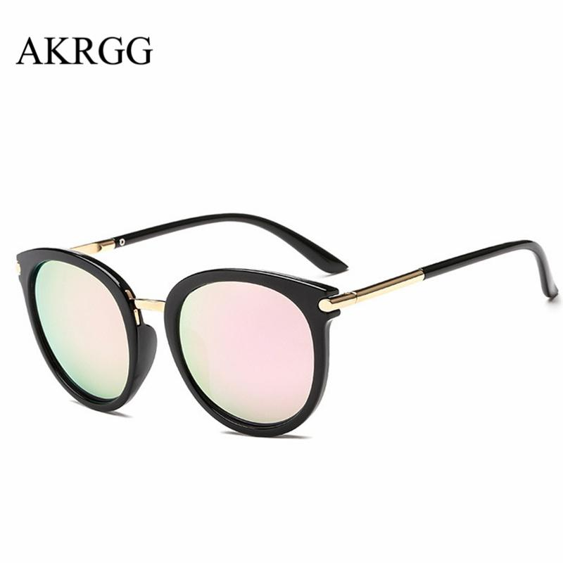 fb44b3fd4d5 Light Big Round Shaped Frame Sunglasses For Women Sun Glasses Cute Ladies Clear  Eyewear Oculos UV400 Cat Eye Sunglasses Round Sunglasses From Boiline