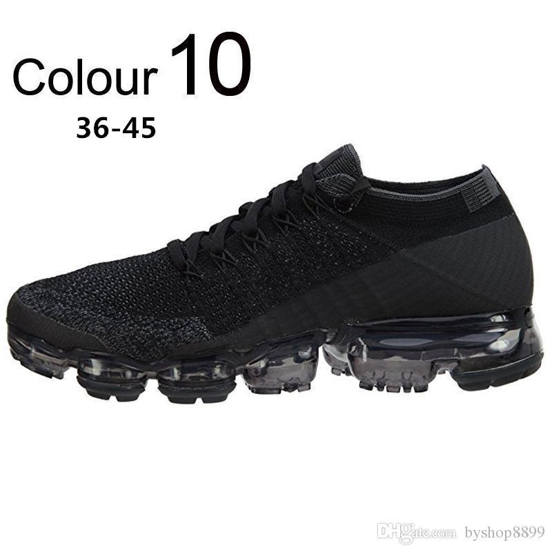 hot sale Rainbow VaporMax 2018 BE TRUE Shock Kids women Running Sneakers Shoes Fashion Children Casual Vapor Sports MEN Shoes