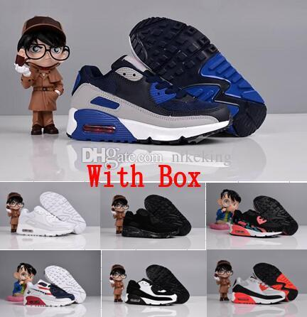 Childrens 90s Boys Girls Birthday Designer Kids Sneakers Presto 90 Children  Sports Youth Children 90s Trainers Infant Outdoor