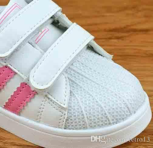 ad2a241923282 2018 High Quality Shell Head Sneakers Children Sport Shoes Running ...