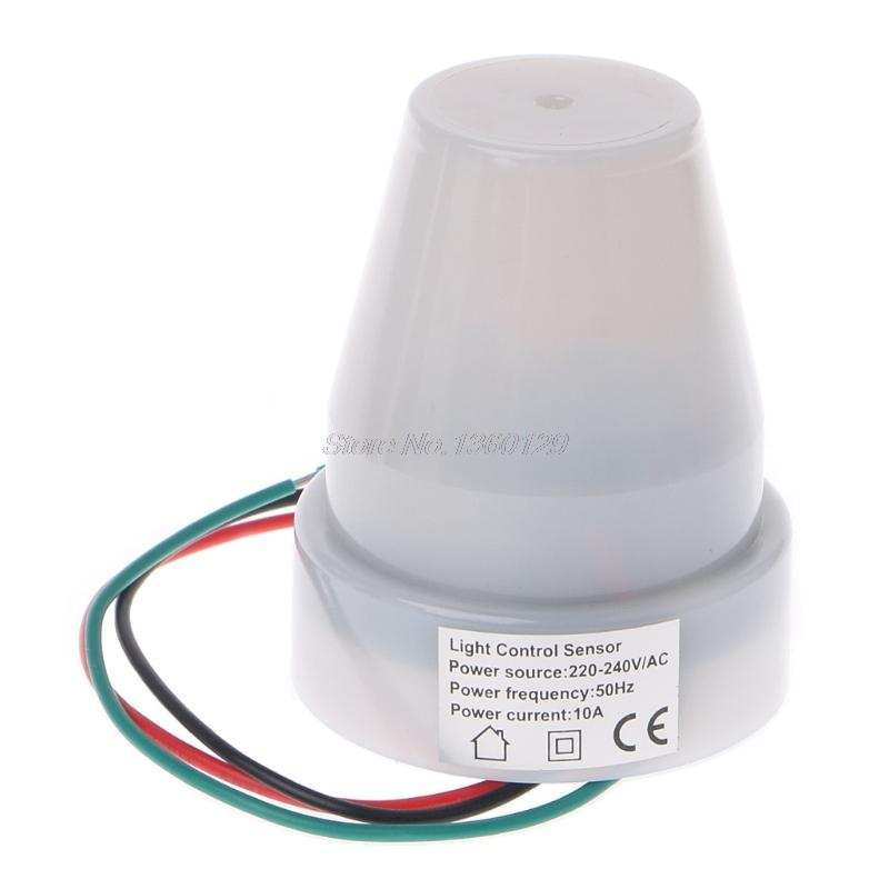 2019 220v 240v Ac Outdoor Photoelectric Sensor Switch Light Control