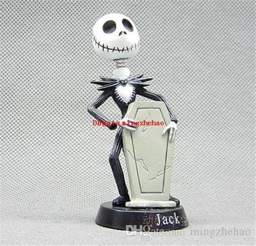 6 unids / set 5 ~ 7 cm pesadilla de Anime antes de Navidad Jack PVC figura muñeca para niños regalo accesorios de teléfono figuras de acción juguete dool envío gratis