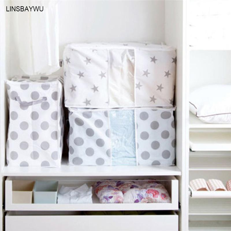 2018 Eco Friendly Foldable Storage Box Clothes Blanket Quilt Cover Cases  For Clothes Closet Sweater Organizer Box Pouches From Greenliv, $34.17    Dhgate.Com