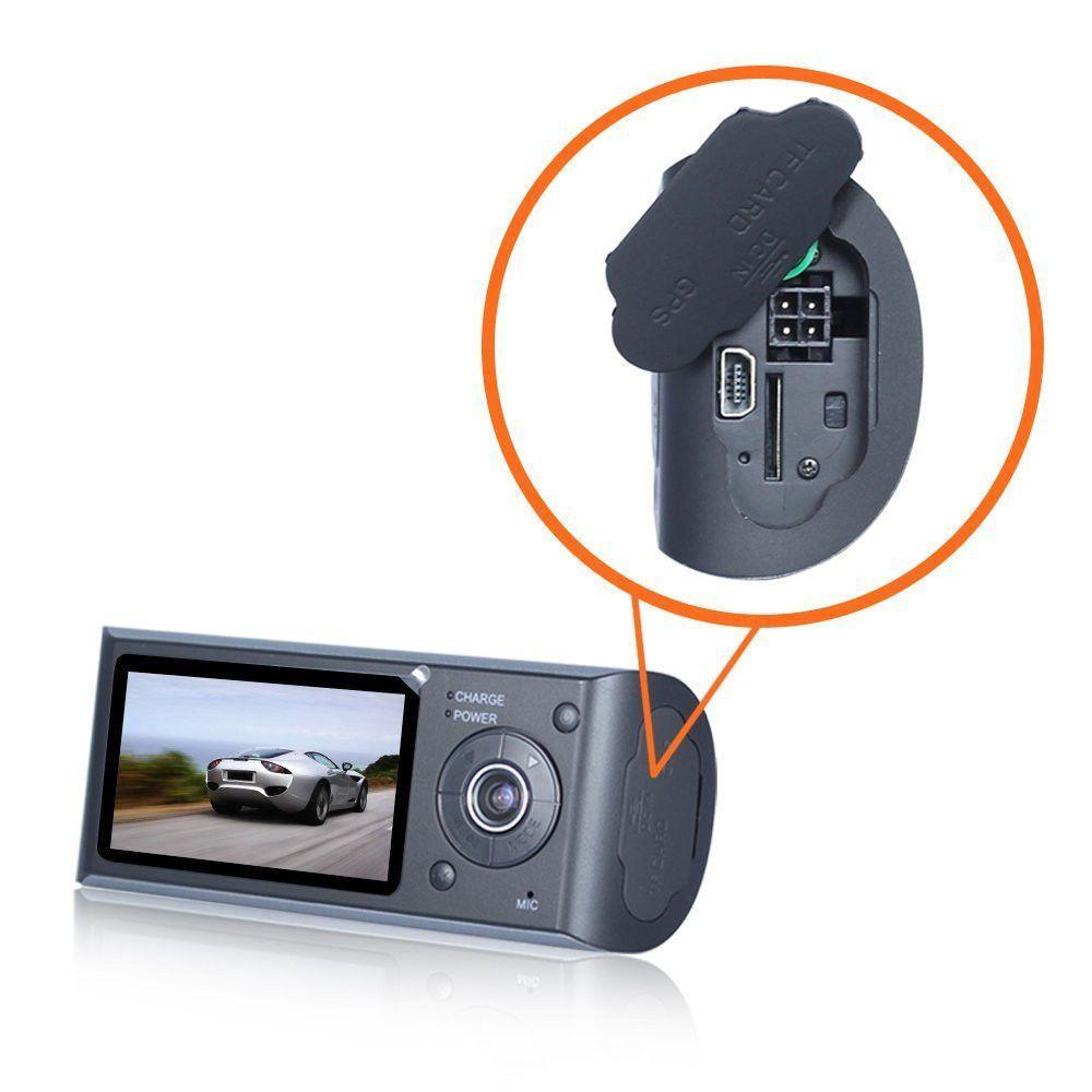 """2018 High Quality 2.7"""" Vehicle 1080P Car DVR Camera Video Recorder Dash Cam G-Sensor GPS Dual Lens"""