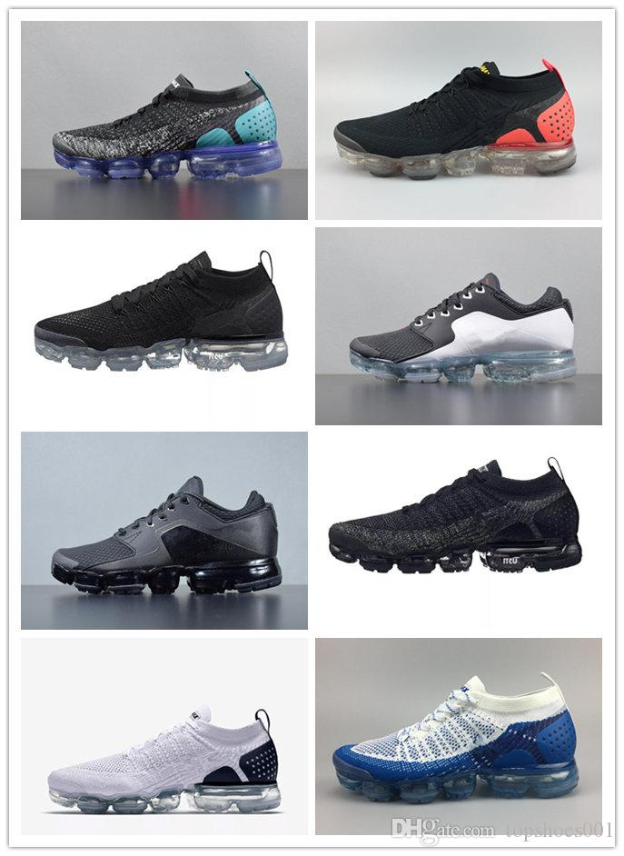 low price fee shipping for sale 2015 sale online 2018 New Arrivals Mens and Womens Running Shoes Sneakers for Men Sports Shoes VaporMax Moc 2 White Green Hiking Walking Shoes US 7-11 sale footlocker sale 2015 new 1BBM12y5Q9