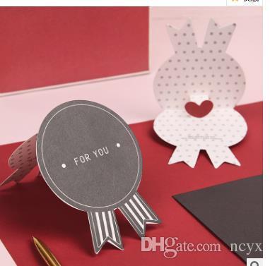 Fang Sen Yuan Sweet Rabbit Valentines Day Card Creative Birthday