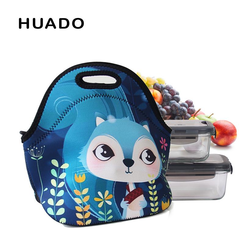 6d18f47c8f28 Neoprene Picnic bag for kids personalized ladies insulated lunch totes  portable thermal bags for picnic outdoor school
