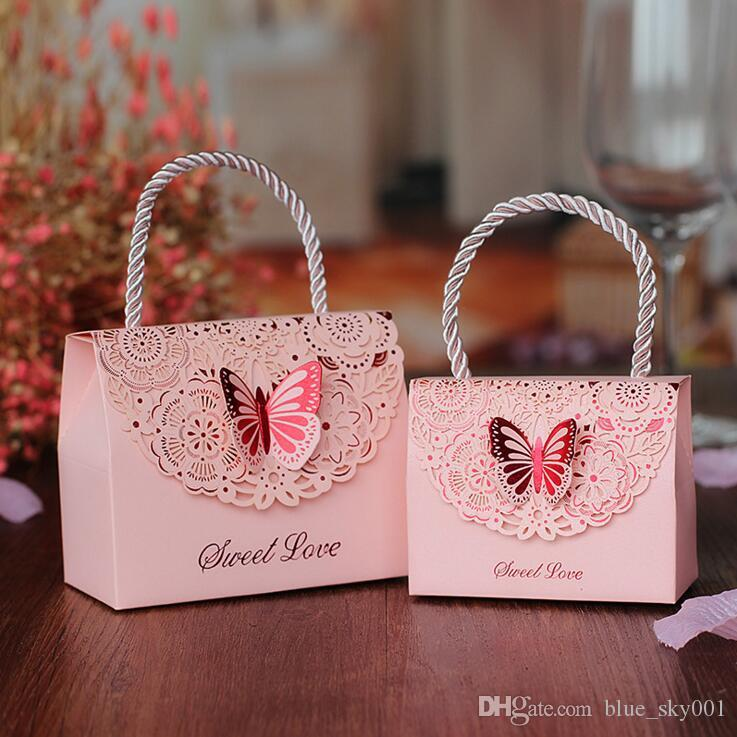 Wholesale Wedding Favors Gift Boxes 2018 New Arrival Hard Card Paper