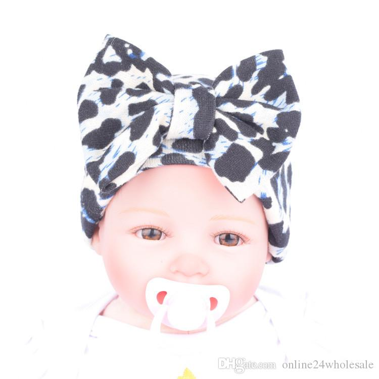 Rouge bébé chapeau un nœud en coton doux Chapeau Head Wear Garçon Fille Cadeau Casquettes et chapeaux pour bébé