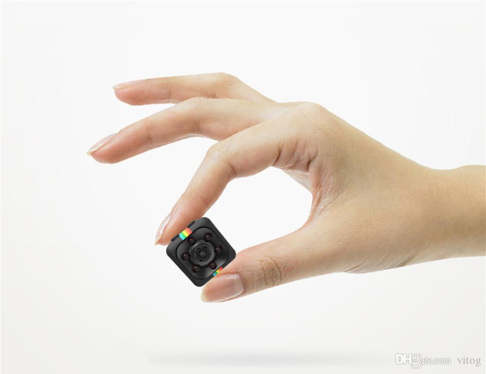 SQ11 Mini Camera HD 1080P Night Vision Camcorder Car DVR Infrared Video Recorder Sport Digital Camera Support TF Card DV Camera