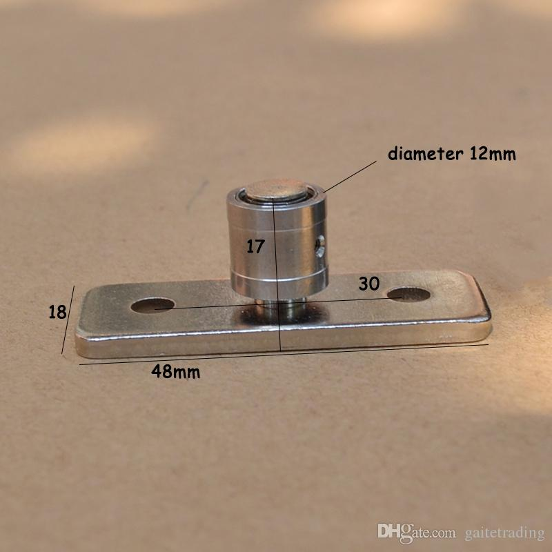 wood door roller sliding door bearing locator hanging pulley stopper director shaft hardware fitting Damper Guide Shaft