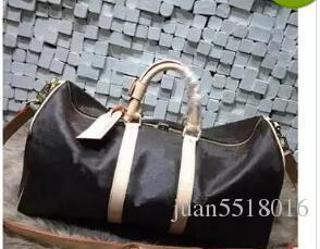 434657fd16 New Fashion Men Women Leather Travel Bag Duffle Bag