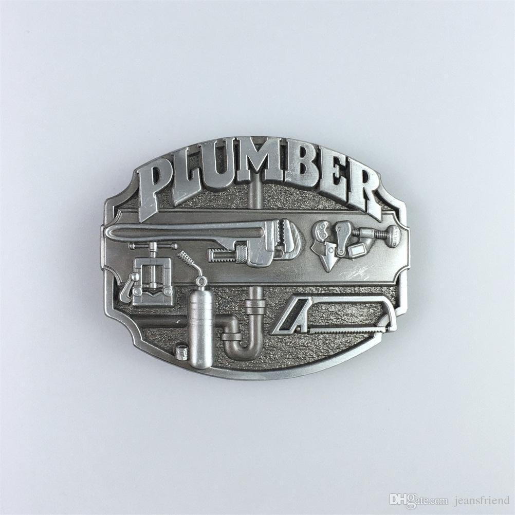 5abede7d38b7 New Vintage Plumber Belt Buckle Gurtelschnalle Boucle De Ceinture ...