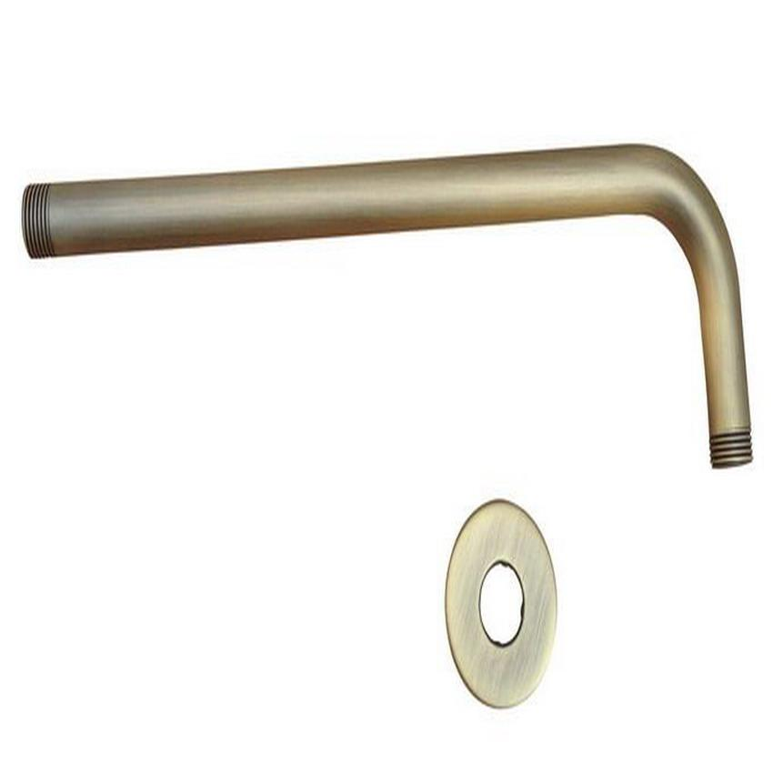 2018 Antique Brass Shower Head Extension Pipe 12 Long Wall Cover Shower Arm  Bathroom Accessory Standard 1/2 Ash104 From Stunning88, $24.2 | Dhgate.Com