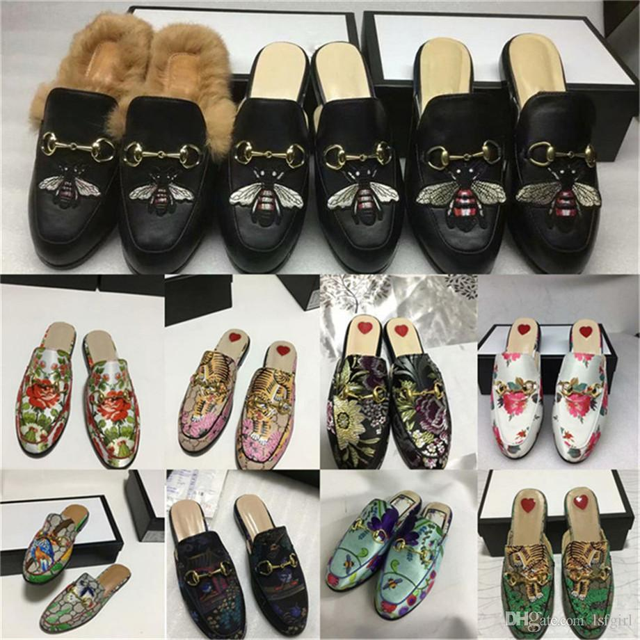 7610e31c786 WomenPrincetown Slipper With Angry Cat Appliqué Moccasins Loafers Lace Ups  Monk Straps Boots Slippers Drivers Sandals Slides Sneakers Dress Glass  Slipper ...