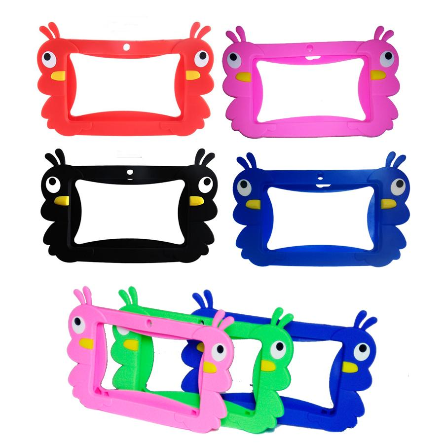 Kids Soft Silicone Rubber Gel Case Cover For 7inch Q88 A13 A23 A33 Q8 Android Tablet PC