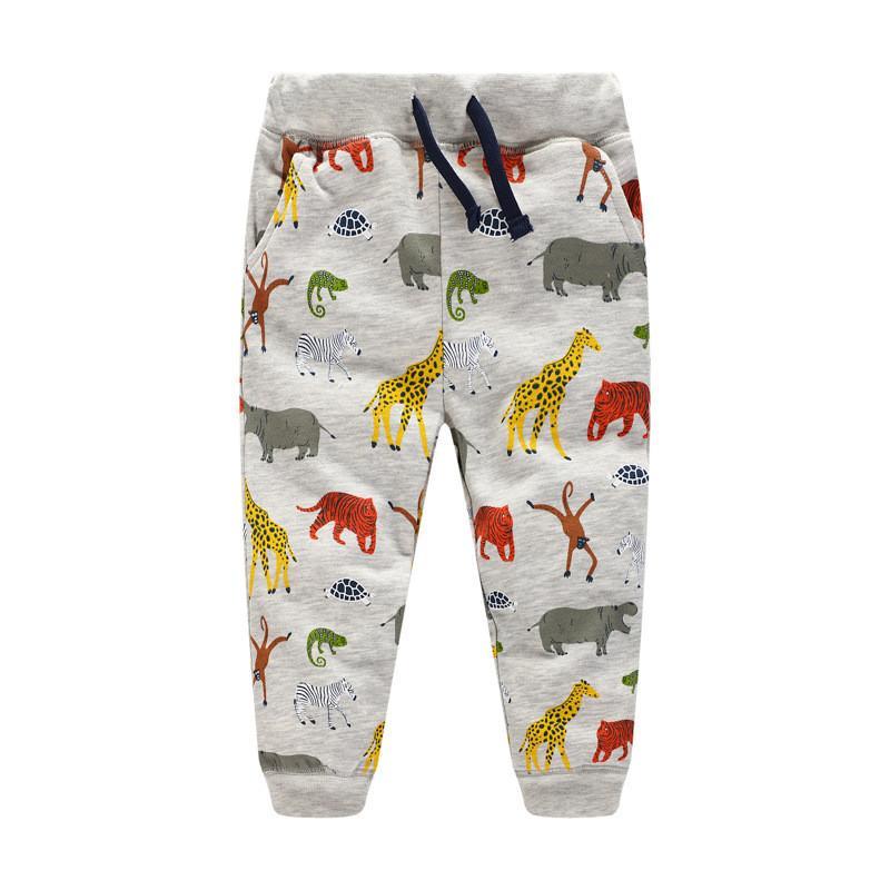 Jungen Hosen Pluderhosen Mädchen Jungen 2017 New Fashion Kleinkind Kind Hosen Baby Elephant Leggings 0-6 Jahre Mutter & Kinder Shorts