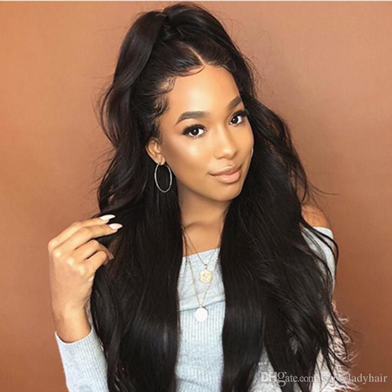 Wig Female Black Realistic Long Hair Curly Hair Black Wig Rose Net  Synthetic Wigs Natural Wave Hairpieces Women S Hair Wigs Canada 2019 From  Superladyhair 9681362fef