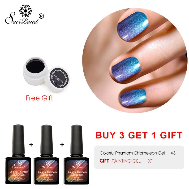 3d Phantom Chameleon Gel Varnish Buy 3 Nail Gel Polish Get 1 Gift ...