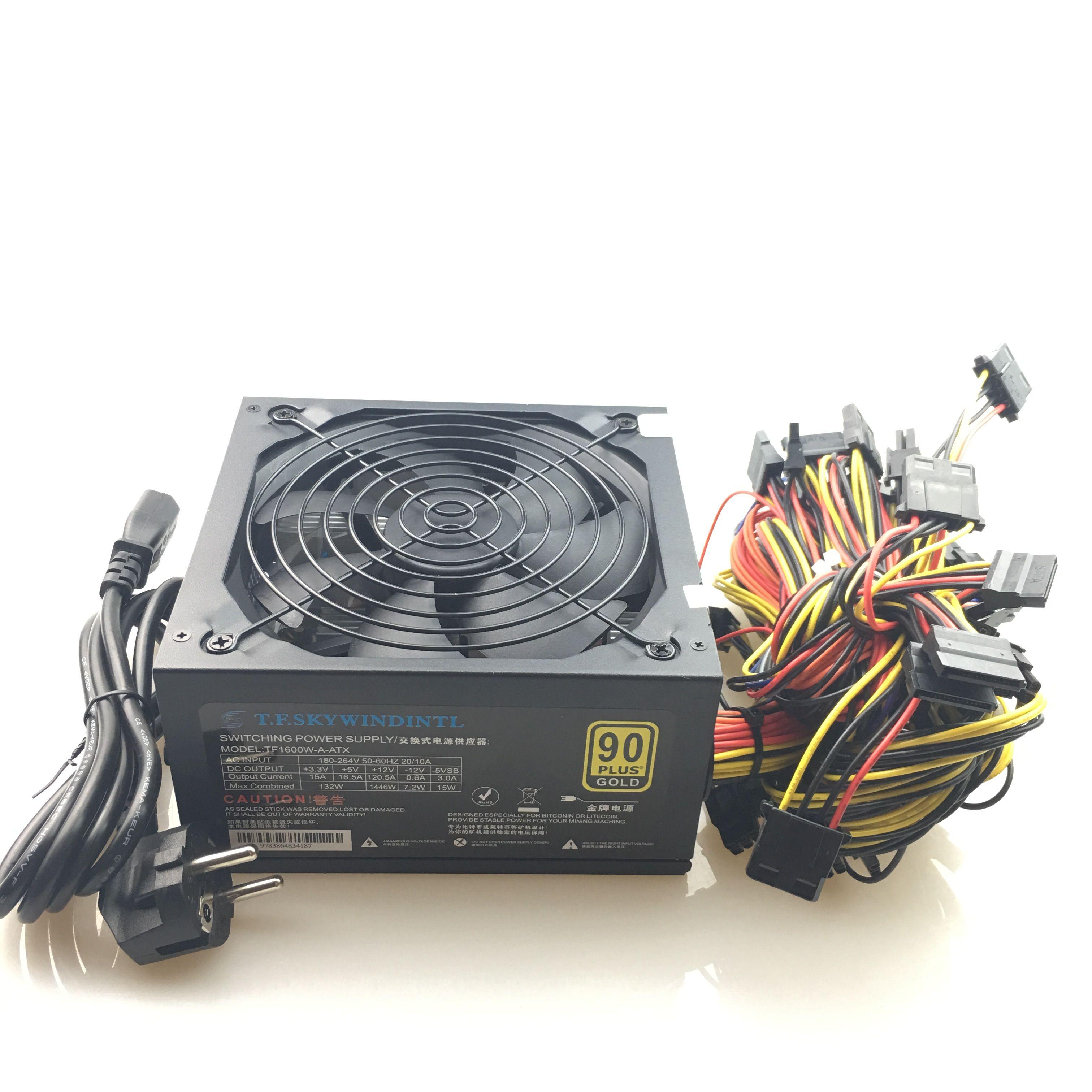 1600w Pc Power Supply Atx Miner Power Psu For Atx Mining Machine ...