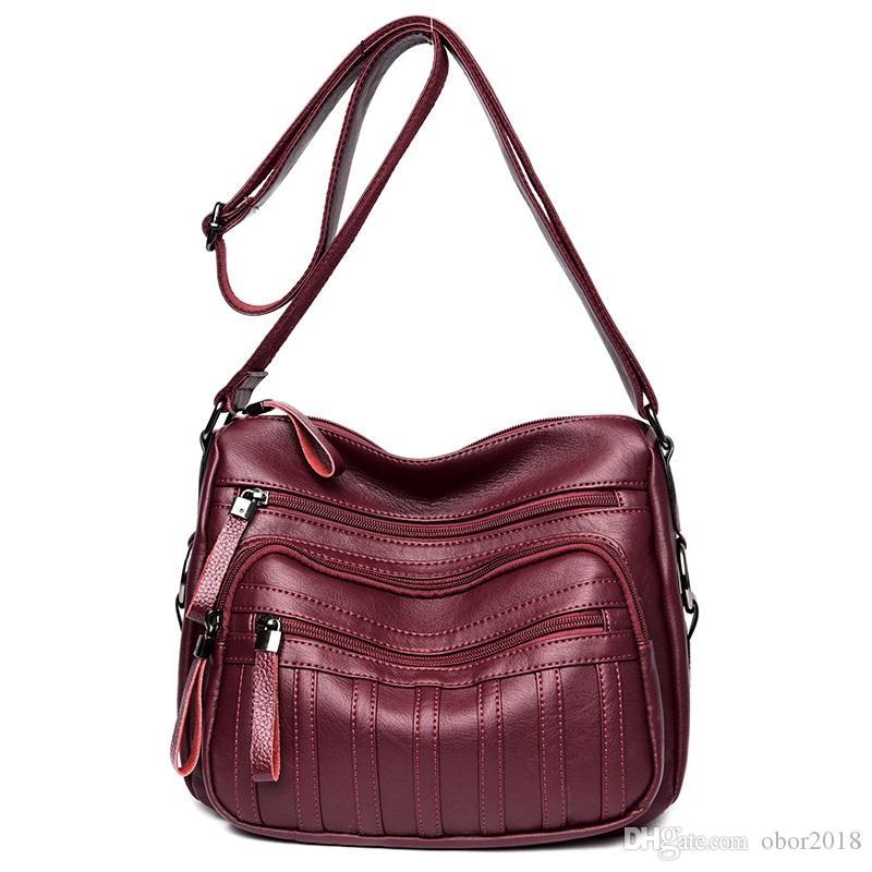 Brand Fashion Soft Leather Shoulder Bags Female Crossbody Bag ... 14ef545e1636b