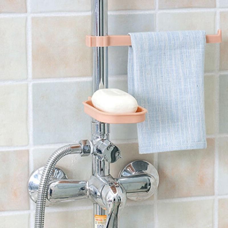 new style Faucet drain storage rack kitchen supplies sink sponge rags Drain shelf