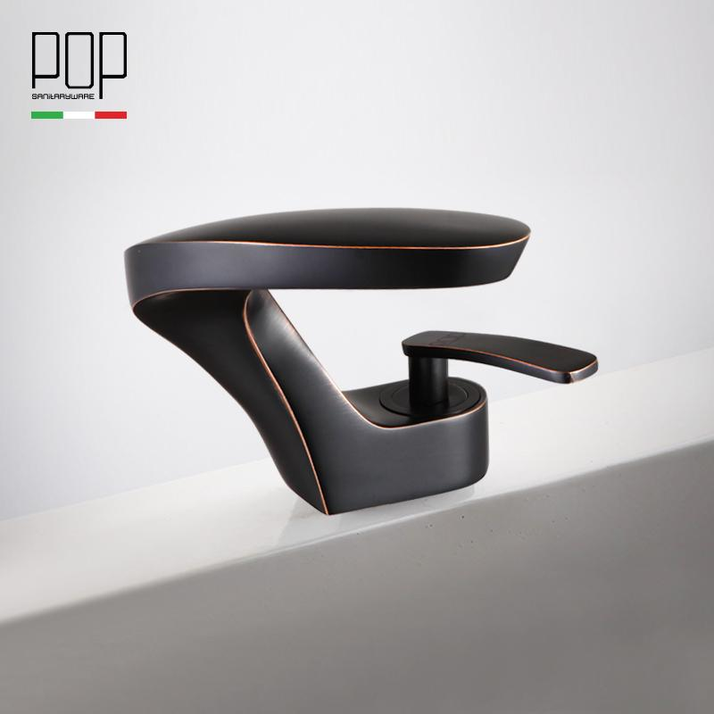 Attrayant 2019 POP Deck Mount Contemporary Bathroom Sink Faucet, Single Handle Modern  Design Oil Rubbed Bronze Basin Mixer Water Tap From Baolv, $161.46 |  DHgate.Com
