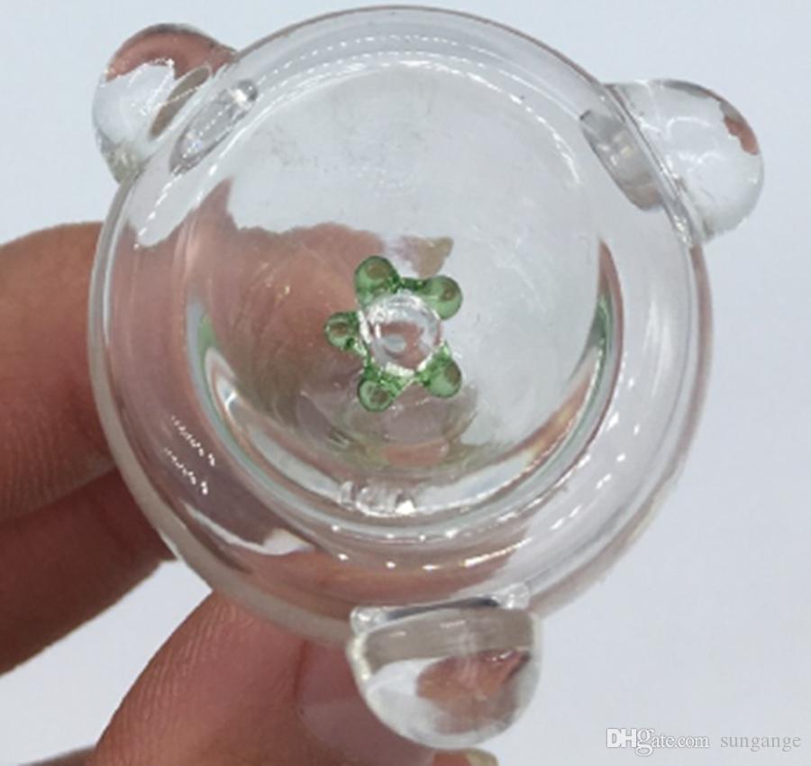 Nuevo diseño para fumar en tranditional hand pipe Daisy Smoking Bowl para pipa de vidrio y tabaco