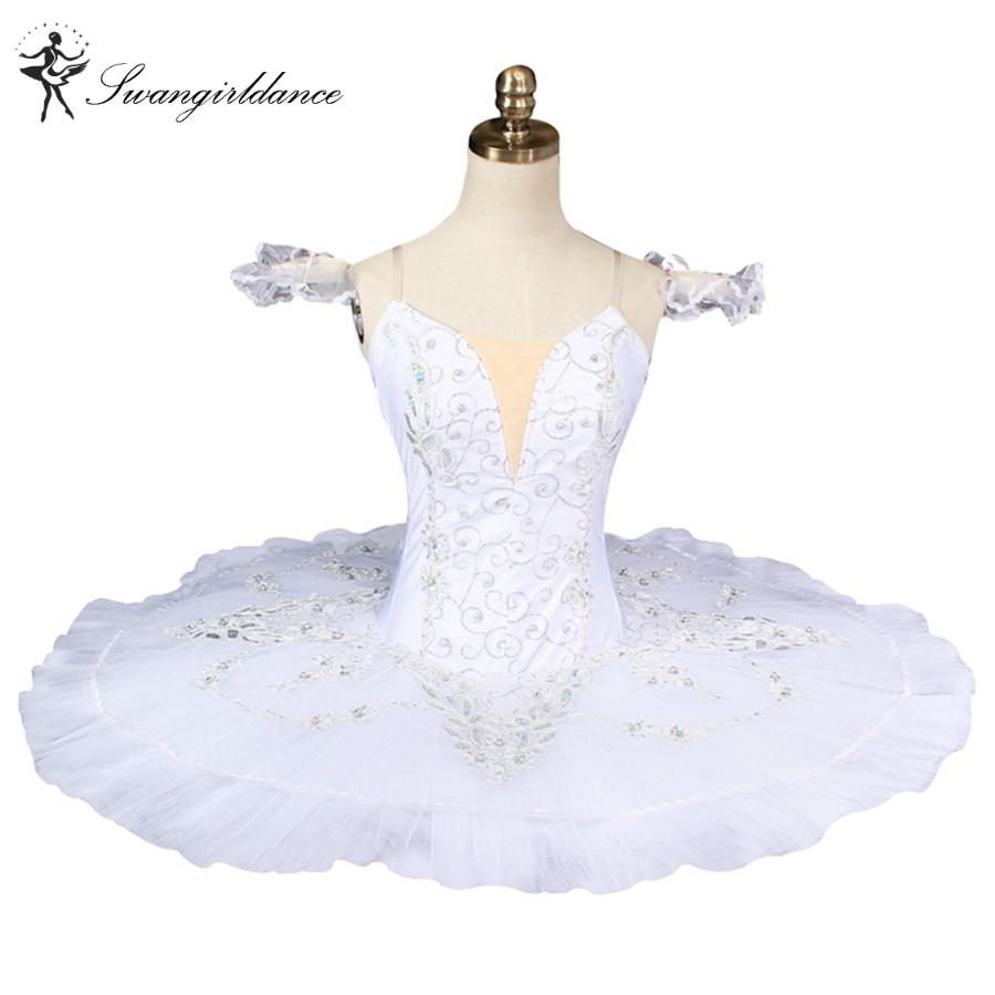a08ce9cd91 Compre Adulto Branco Cisne Lago Ballet Tutu Profissional Trajes De Balé  Mulheres Platter Tutu Meninas PanquecaBT8931 De Wqasysos