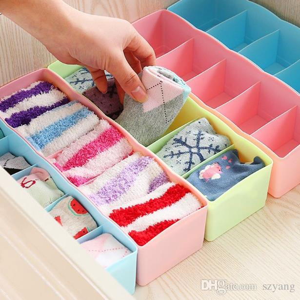 High Quality Fashion 5 Format Storage Box Can Be Freely Combined Store  Underwear, Socks, Cosmetics, For Cabinets, Drawers Socks Storage Box  Drawers Storage ...