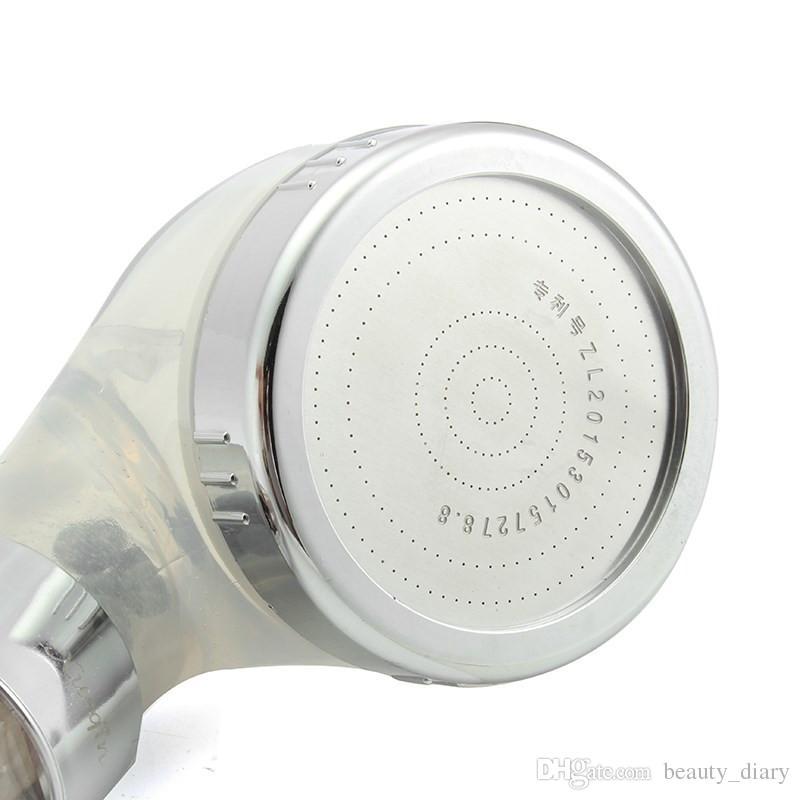 الحمام دش رؤساء الداعم ABS البلاستيك SPA أنيون دش توفير المياه المحمولة ارتفاع ضغط دش مطر رئيس دش المقصورة