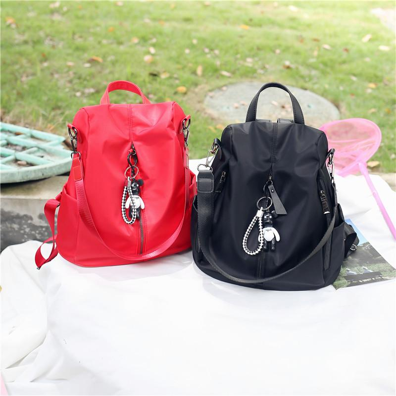 2018 New Female Fashion Backbag Travel Student Casual Schoolbag Women Bags  Girl Shoulder Bag Solid Color Rucksacks Bookbags From Since1991 3acdb6791a7e2