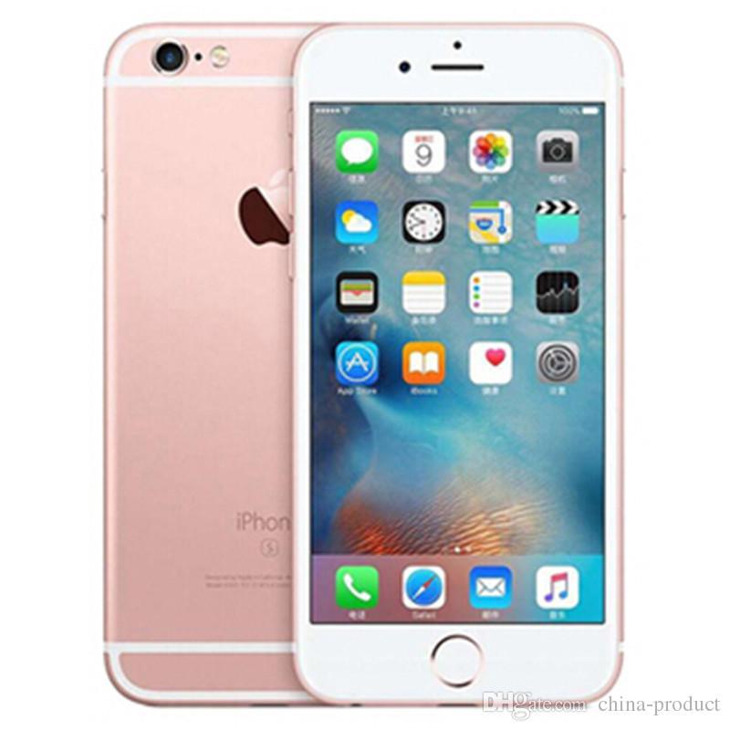 الأصلي تم تجديده iPhone 6S 1GB RAM 16GB / 64GB / 128GB ROM مع معرف اللمس ثنائي النواة الهاتف الذكي مقفلة اي فون 6S