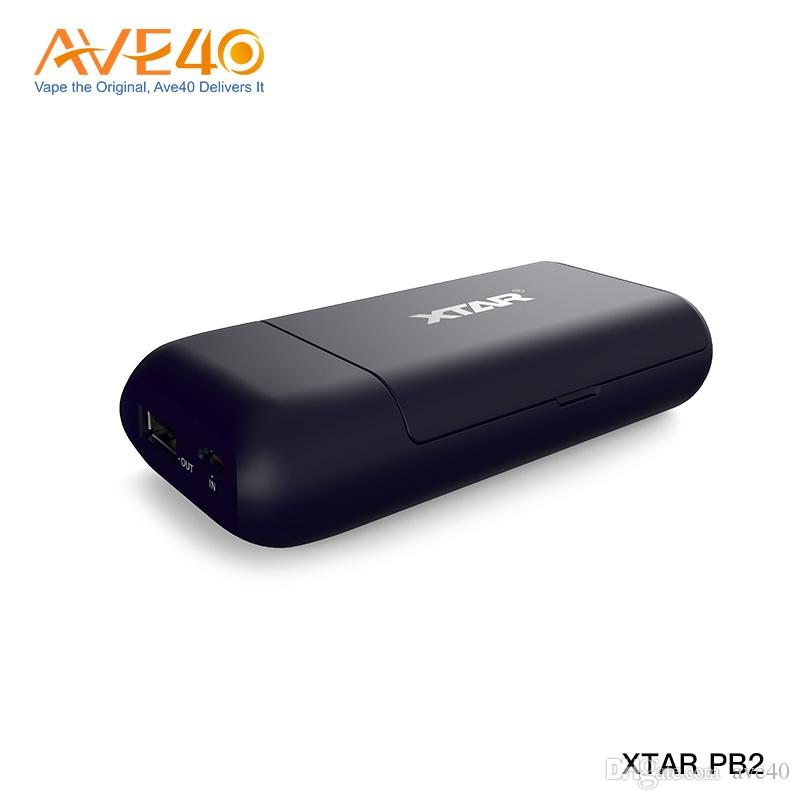 Original XTAR PB2 18650 Battery Charger Dual Slots Portable 18650 Battery Charger With Power Bank Function