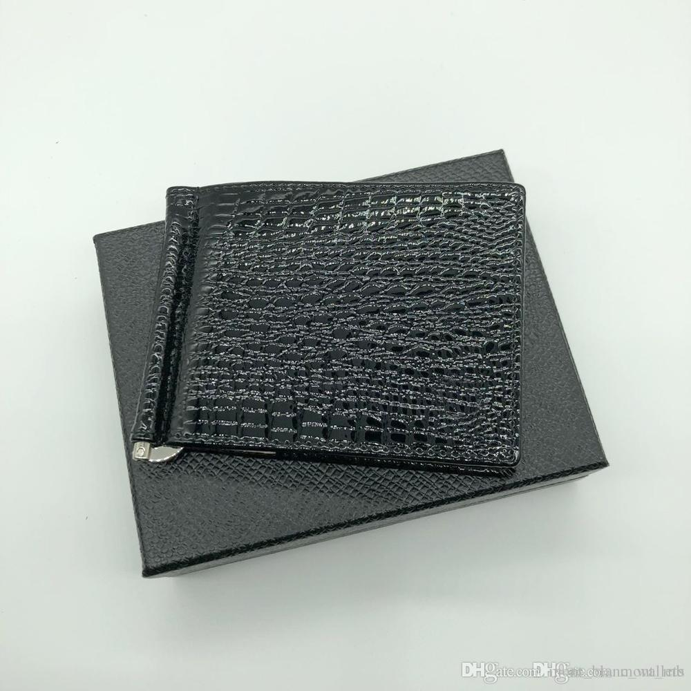 The real leather business card holder of the new luxury fashion the real leather business card holder of the new luxury fashion business card the black short credit card holder with a large bill colourmoves