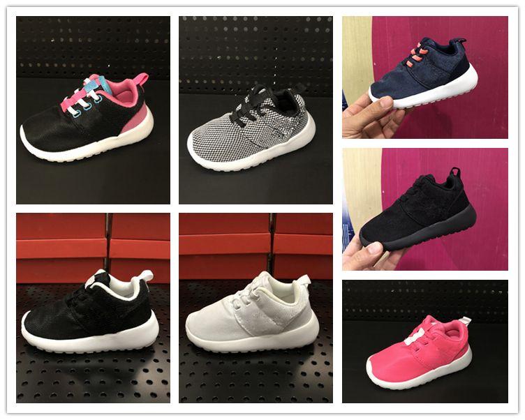 36272bb50fa10 Acheter Nike Roshe Run Rosherun Chaussures Enfants Confort Ultra Léger  Garçon Chaussures De Course Pour Fille De  48.74 Du Humeijin666888