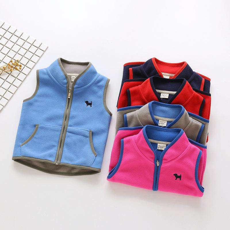 4a0ad7896e86 Baby Kids Clothing Sweaters Vest Autumn Winter Children s Wear ...
