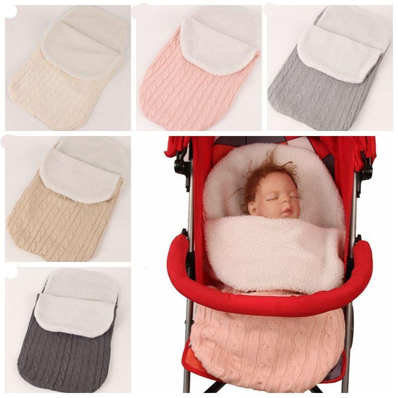 926820b75a Baby Sleeping Bag Baby Strollers Sleeping Bags Knitted Newborn Sleep Sacks  Warm Nursery Blankets Kids Bedding Supplies YW1613 Blanket Baby Online  Infant ...