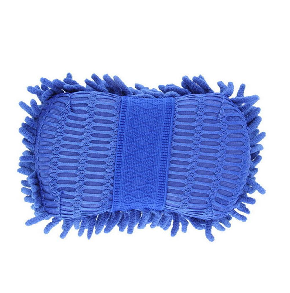 Car Auto Hand Wash Towel Chenille Microfiber Soft Washing Gloves Coral Fleece Sponge Cleaning Towel AAA197