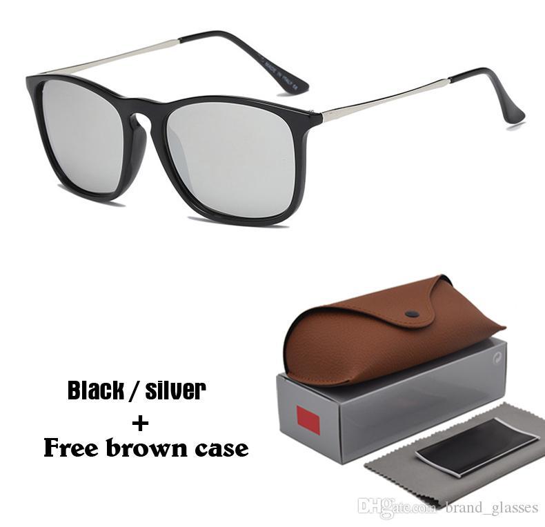 82b28d990178e Compre Marca Designer Óculos De Sol Para Homens Do Sexo Feminino Retro Esportes  Óculos De Sol Mulheres Homens Uv400 Lentes Oculos De Sol Com Caixa Marrom E  ...