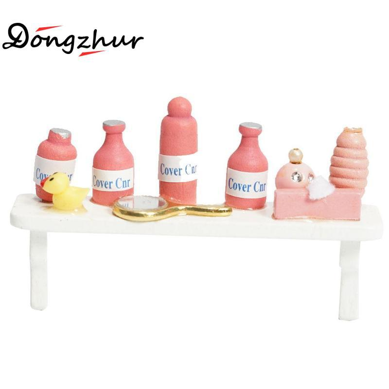 Wholesale Dongzhur Diy Dollhouse Miniatures 1:12 Accessories Pink ...